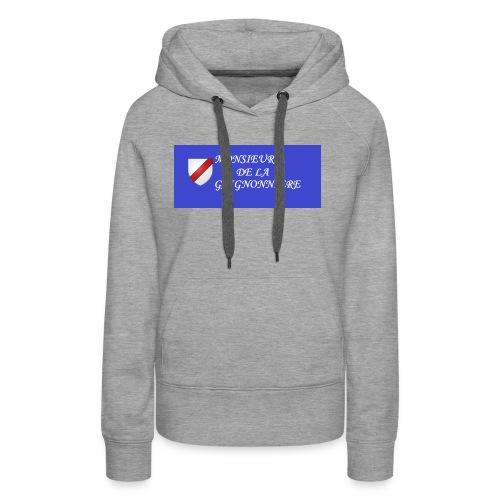 Du Reau_de_La_Gaignonnier - Sweat-shirt à capuche Premium pour femmes