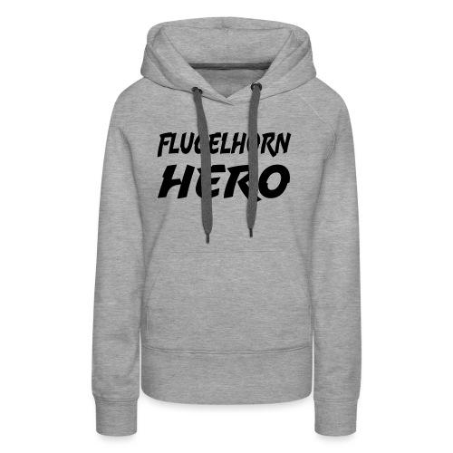 Flugelhorn Hero - Premium hettegenser for kvinner
