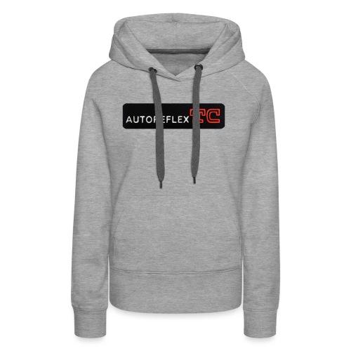 Autoreflex TC - Felpa con cappuccio premium da donna