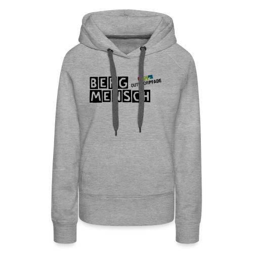 BergMensch#01 - Frauen Premium Hoodie