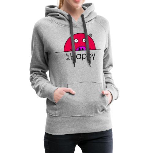 Happy Rosanna - « just Happy » - c - Sweat-shirt à capuche Premium pour femmes