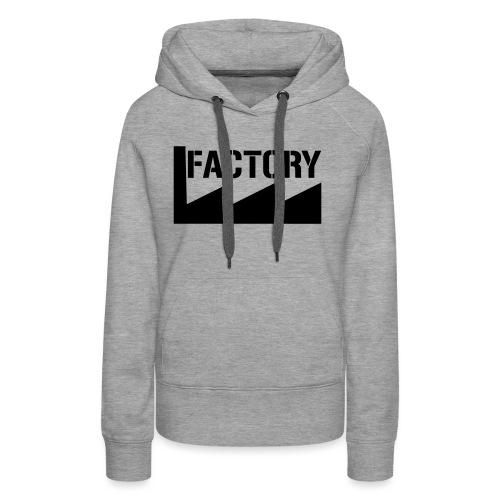 FACTORY - Vrouwen Premium hoodie