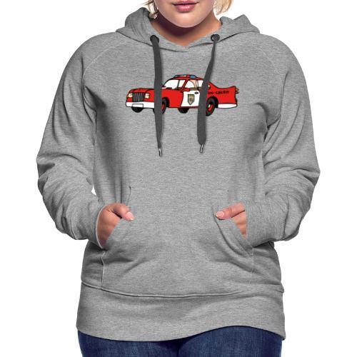 fire chief car - Frauen Premium Hoodie