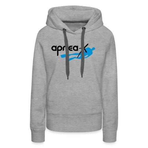 Apnea-X klein - Frauen Premium Hoodie