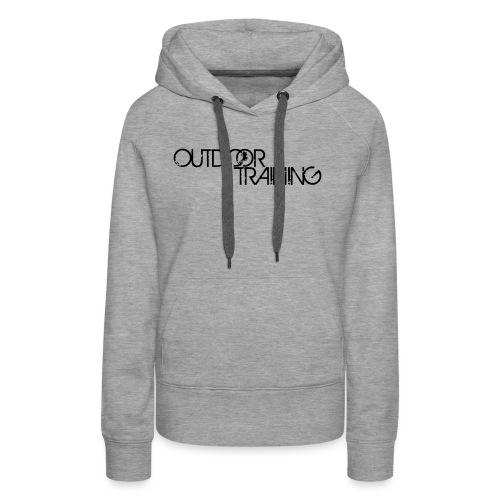 OutdoorTrainingpec - Sweat-shirt à capuche Premium pour femmes