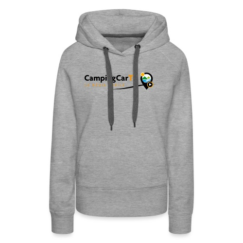 LOGO CCTV - Sweat-shirt à capuche Premium pour femmes
