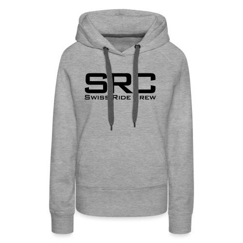 SRC Snapback Schwarz - Frauen Premium Hoodie
