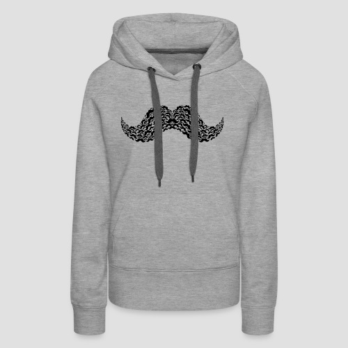 Moustache Overload - Frauen Premium Hoodie