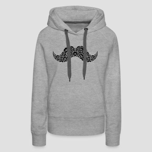 Moustache Overload - Women's Premium Hoodie