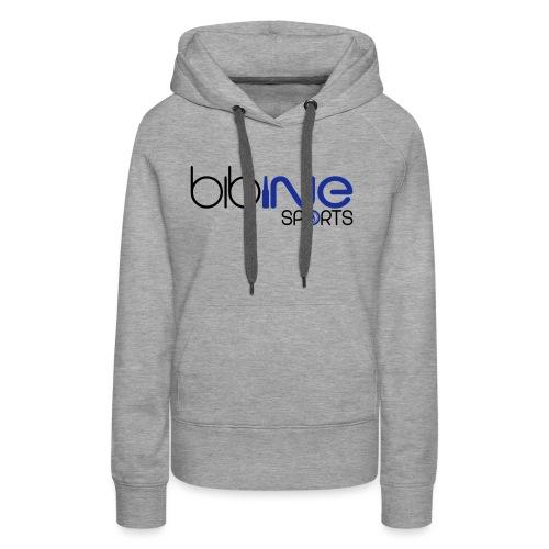 bibine sports - Sweat-shirt à capuche Premium pour femmes
