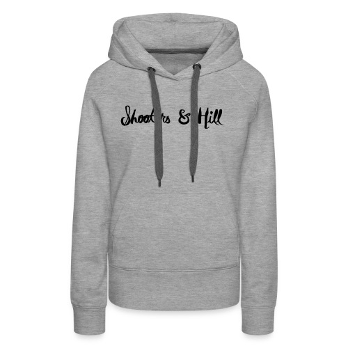 text in circle - Women's Premium Hoodie
