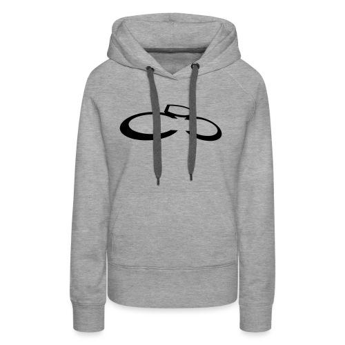 dcc logo klein 032013 - Frauen Premium Hoodie