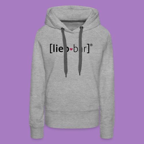 liebbar_vektorgrafik - Frauen Premium Hoodie