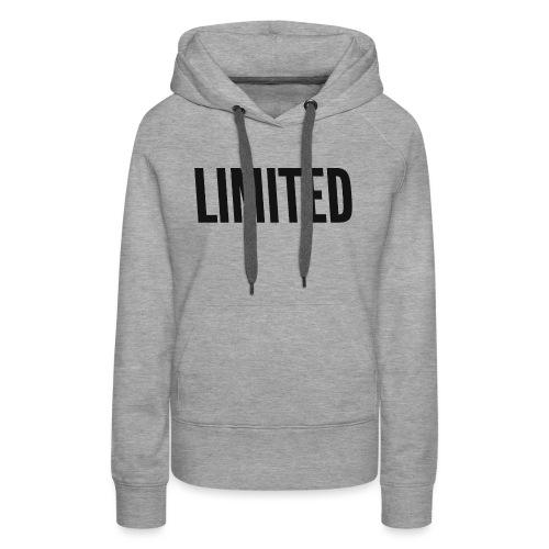 LIMITED - Bluza damska Premium z kapturem