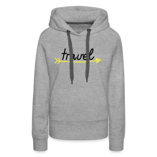 Travel - Frauen Premium Hoodie