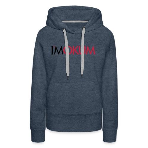 I'Mokum, Mokum magazine, Mokum beanie - Vrouwen Premium hoodie