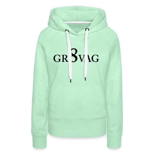 GR8VAG - Naisten premium-huppari