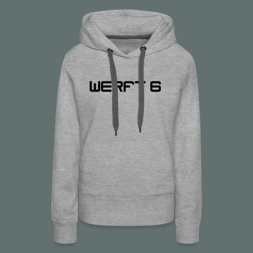 werft6 logo - Frauen Premium Hoodie