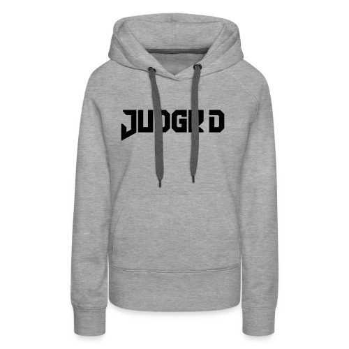 Logo_Judge_D - Frauen Premium Hoodie