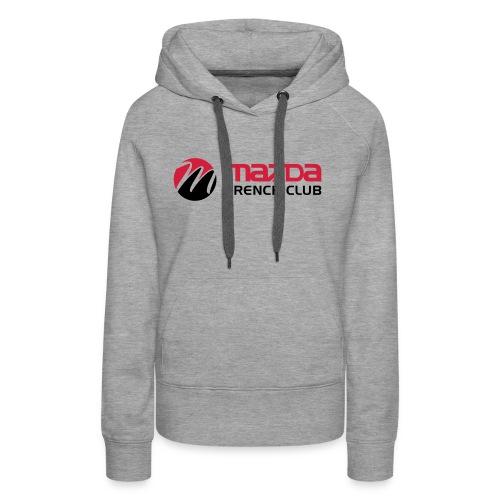 mazda french club - Sweat-shirt à capuche Premium pour femmes