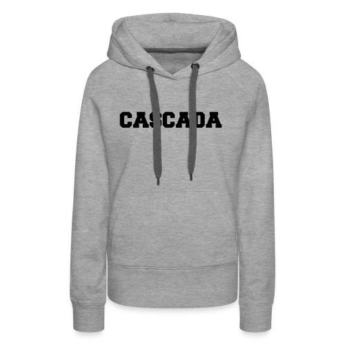 CASCADA - University - Style - Women's Premium Hoodie
