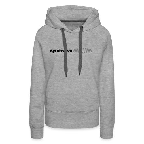 Synewave 2016 Ltd. Edition Black on Black Hoodie - Women's Premium Hoodie