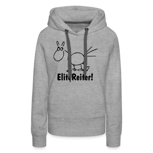 EliteReiter! Pferd - Frauen Premium Hoodie