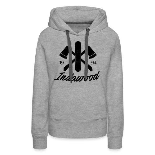 Indawood halux hans - Vrouwen Premium hoodie