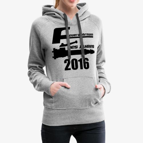 Feuerwehrmann des Jahres - Frauen Premium Hoodie