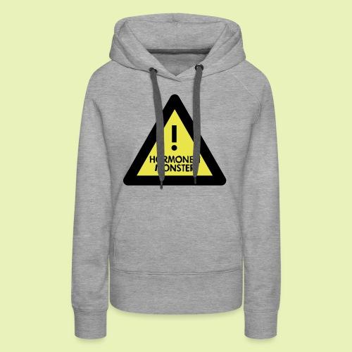 Hormonen monster ( zwanger ) - Vrouwen Premium hoodie