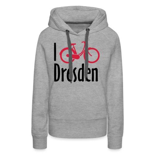 I Bike Dresden - Hollandrad - Frauen Premium Hoodie