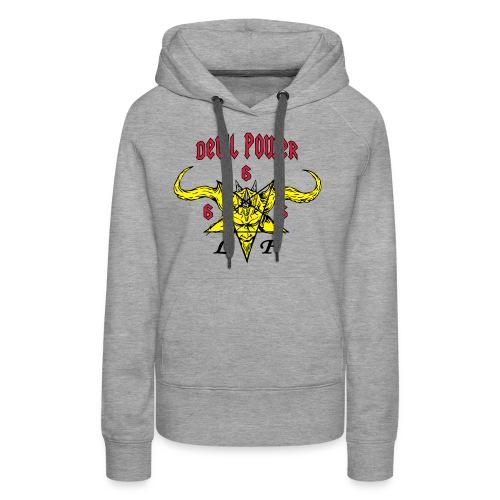 devil_power_2 - Sweat-shirt à capuche Premium pour femmes