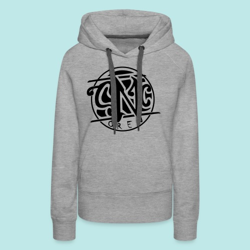 snc_logo_vektor_black2 - Frauen Premium Hoodie