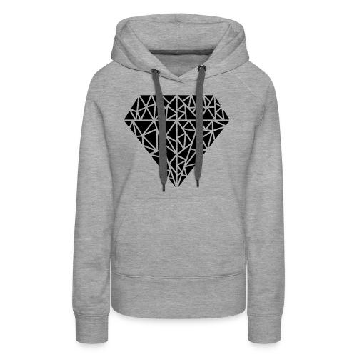 Triangle Love - Frauen Premium Hoodie