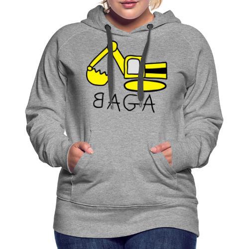 Bagger (BAGA) - Frauen Premium Hoodie