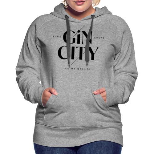 Gin City 2 - Frauen Premium Hoodie