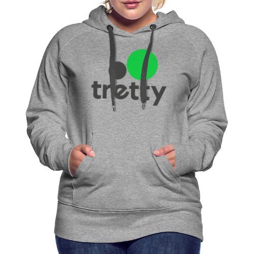 Tretty Logo ohne Subline - Frauen Premium Hoodie