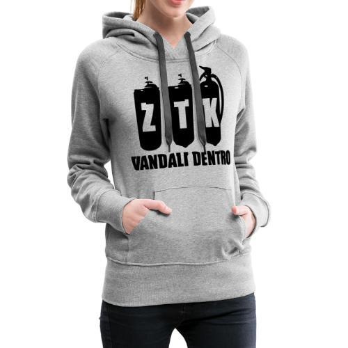 ZTK Vandali Dentro Morphing 1 - Women's Premium Hoodie