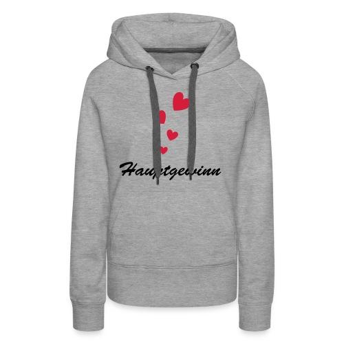 Hauptgewinn - Frauen Premium Hoodie