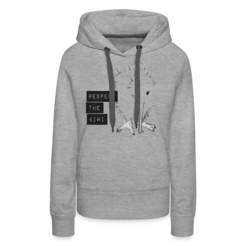 Respect the Kiwi - Frauen Premium Hoodie
