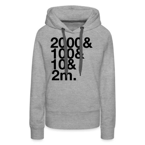 Henley 2112m - Women's Premium Hoodie