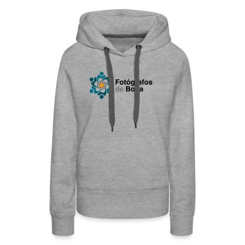Logo FdB Color - Sudadera con capucha premium para mujer