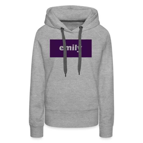 Emily - Women's Premium Hoodie
