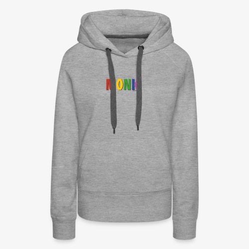 Monk Pride (Rainbow) - Women's Premium Hoodie