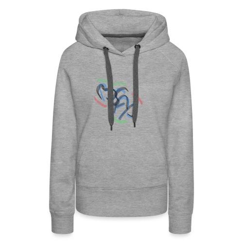 BsAp mode streetwear - Sweat-shirt à capuche Premium pour femmes