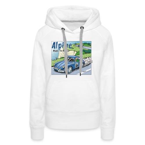 Polete en Alpine 106 - Sweat-shirt à capuche Premium pour femmes