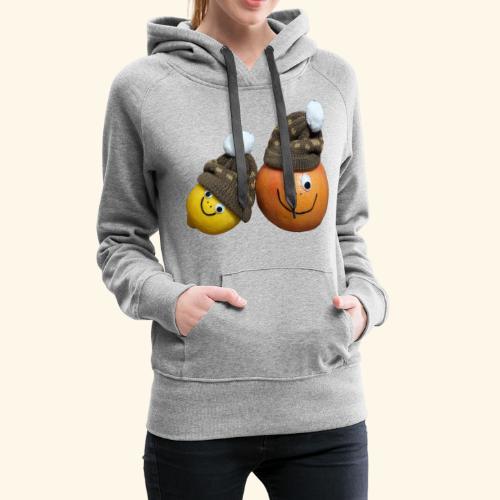 Love Fruits - Sweat-shirt à capuche Premium pour femmes