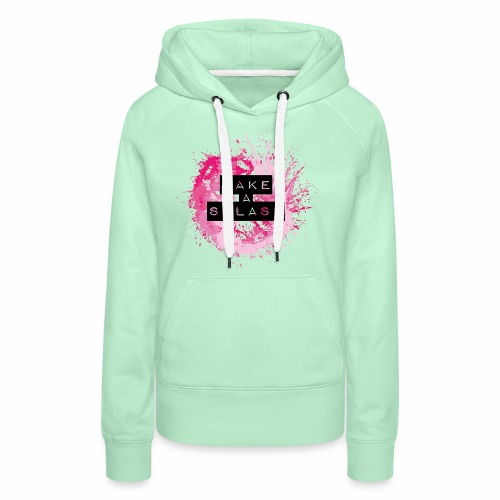 Make a Splash - Aquarell Design - Frauen Premium Hoodie