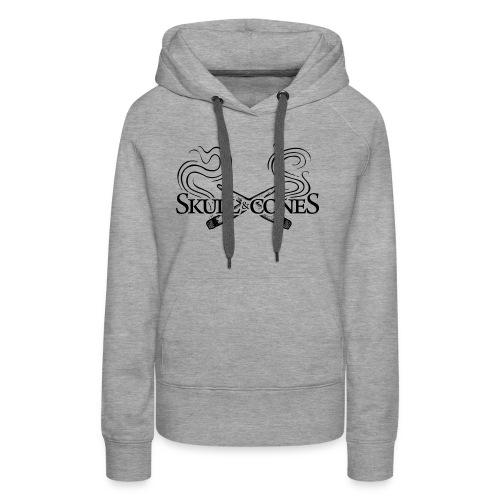 S & C Logo Letters - Women's Premium Hoodie