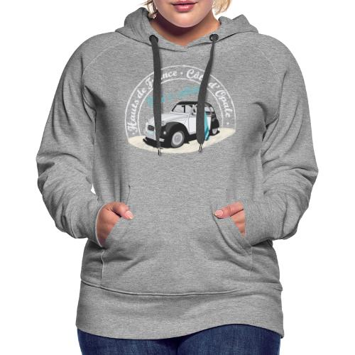 2CV - Wind is calling II ( Le vent m'appelle!) - Sweat-shirt à capuche Premium pour femmes